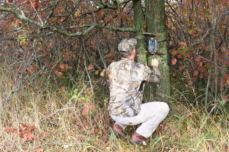 Placing your cameras in the right spots and checking them often will allow you to make decisions based on reliable and up to date information throughout the November rut.