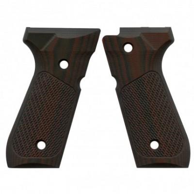 VZ Grips for Beretta 93 Black Cherry.