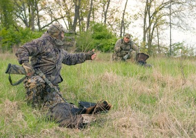 Currently, the number of US turkey hunters is approaching three million and they're responsible for pumping some $2 billion into the economy each year. Image by NWTF.
