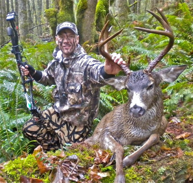 Austin Kincaid trains hard and puts in hundreds of hours of scouting in the rugged terrain of the Cascade Mountains in Oregon. This season, the first of two blacktail trophies arrived 15 days apart.