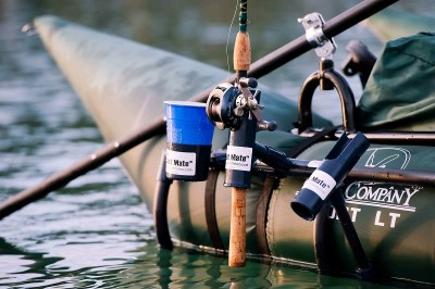 The CastMate is a durable, convenient system for handling and managing fishing outfits and accessories.