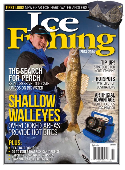 Annual Ice Fishing Magazine Offers Valuable Advice From