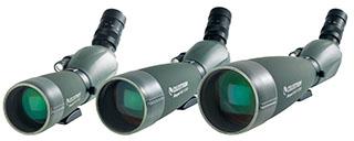 Regal M2 series spotting scopes.