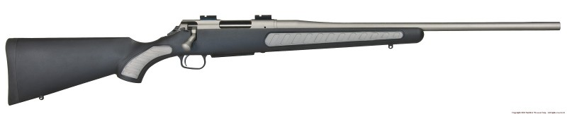 The Weather Shield Venture is roughly $50 more than the blued variant. It makes the rifle virtually rust proof and that's worth $50 to me. Image courtesy Thompson/Center.