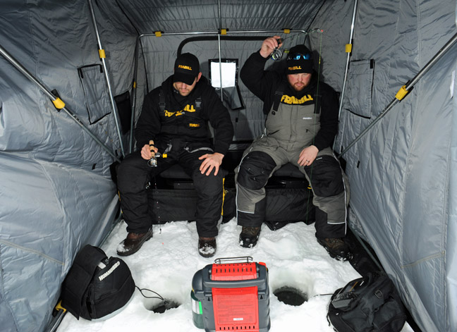 New frabill gear too hot for ice outdoorhub for Frabill ice fishing suit