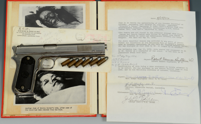 The Colt comes well documented with a wealth of photos and letters.
