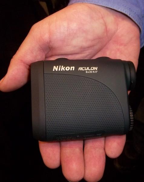 The Nikon Aculon Rangefinder. Image by Bernie Barringer.