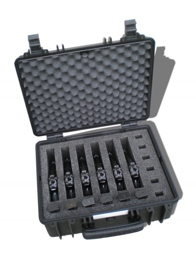 One of the pistol cases offered by the company Tabor works for, International Supplies. Image courtesy International Supplies.