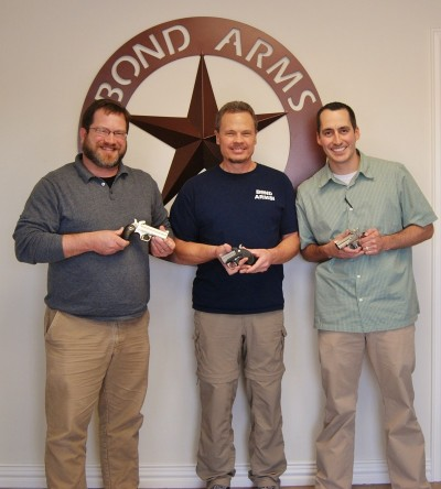 Steve Remy and Reed Snyder spend a day at the Bond Arms factory.