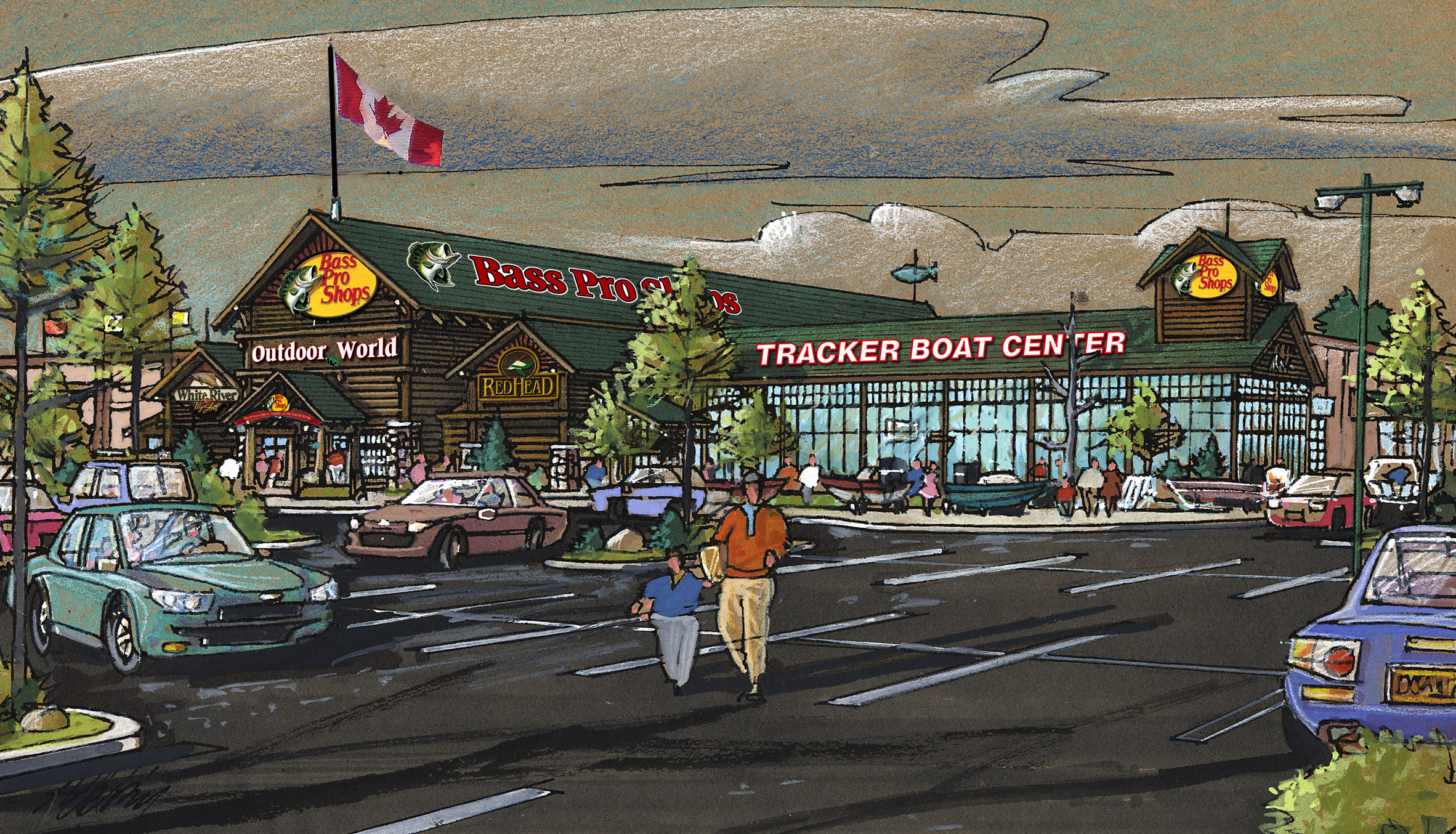 Bass Pro Shops Announces Sixth Canadian Store Located In -3664