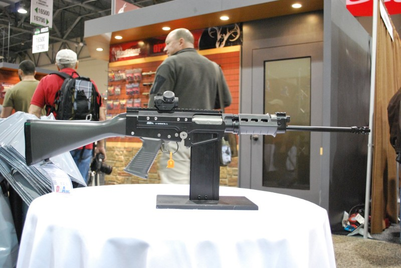 The DSA, Inc. FAL SA58 Lightweight, which will be available in four months.