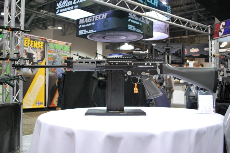 A left-side view of the FAL SA58 Lightweight.