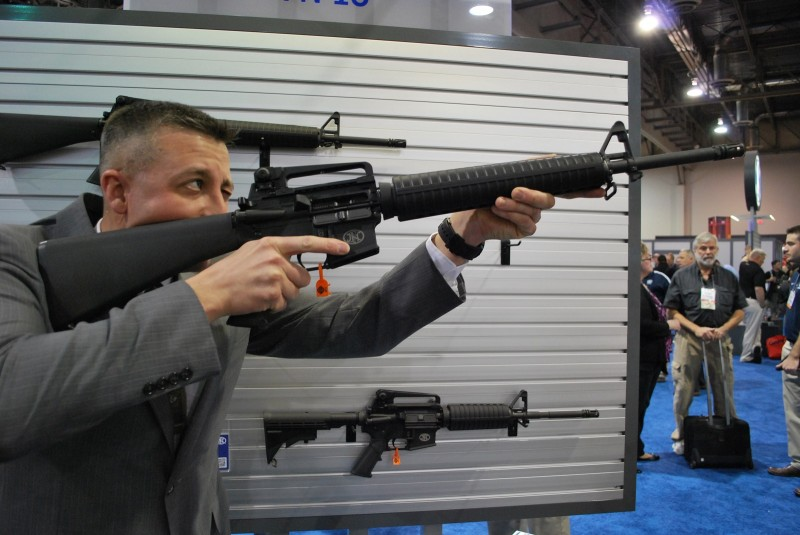 The FN 15 Rifle.