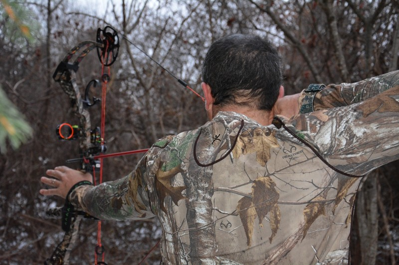 If you're going on a late-season hunt, you need to layer appropriately.