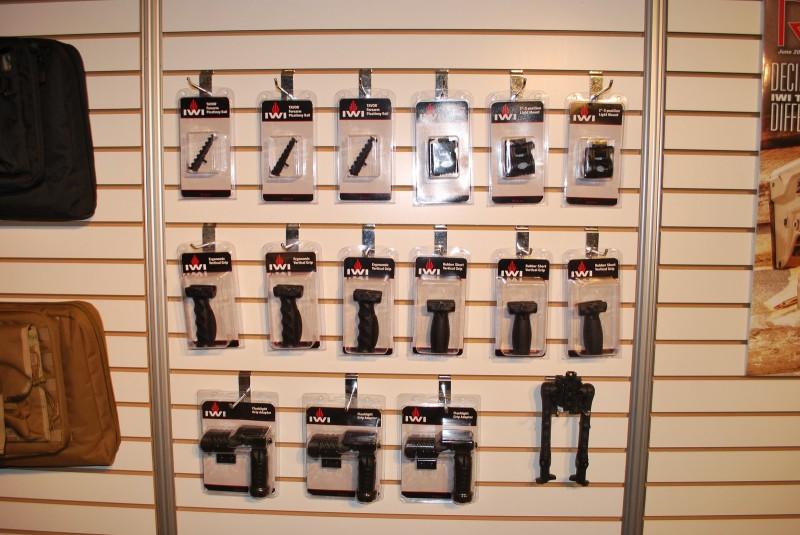 New IWI US firearm accessories.