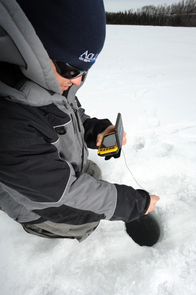 Anglers using portable underwater cameras often discover unknown hot spots.