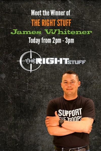 James Whitener of The Right Stuff will also be at SHOT Show.