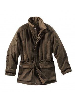 Men's Nap Loden Hunting Jacket in Olive Green.