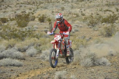 Nick Burson rode hard for a solid third place finish.
