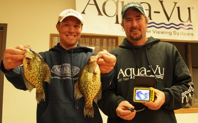 Second place finishers Nick Smyers and Kevin Fassbind.
