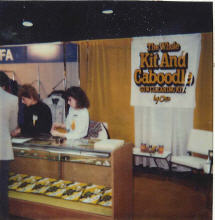 Otis Technology's first SHOT Show booth in 1987.