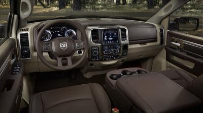 RAM Truck Interior