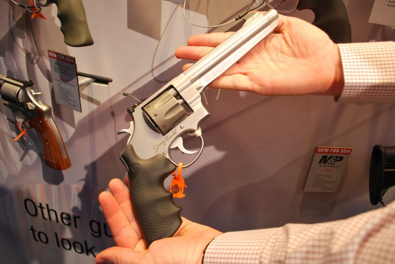 "The Smith & Wesson Performance Center ""Jerry Miculek"" Model 929."