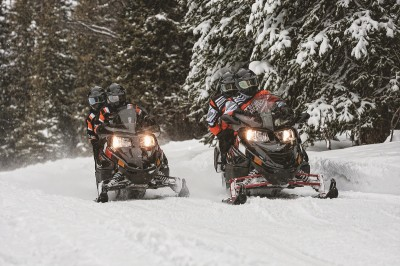 Be honest about your skills and where you think you'll be riding most often. It'll help you choose which machine is right for you. Image courtesy Arctic Cat.