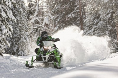 Engines come in two basic types: two-stroke and four-stroke. Image courtesy Arctic Cat.