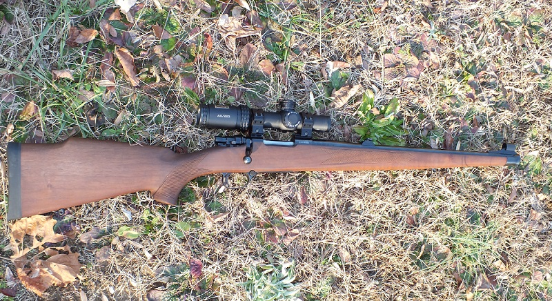 The Zastava M85 Mini Mauser has an 18-inch barrel and a full-length Mannlicher-style stock.