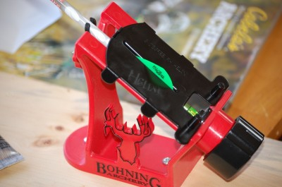 Be sure to shoot your bow all winter long. The snowy months are also a great time of year to re-fletch arrows.