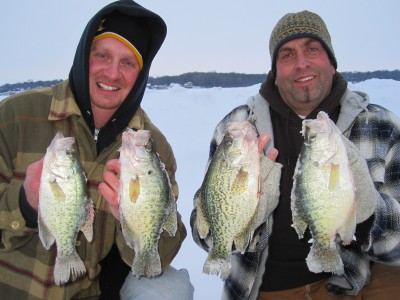 The greenest, tallest patches of weeds are often the most productive places to find crappie. Image courtesy Kevan Paul.