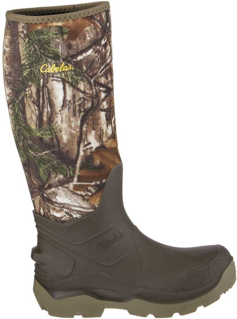 Realtree Xtra Accelerator 5mm Rubber Boots By Cabela's