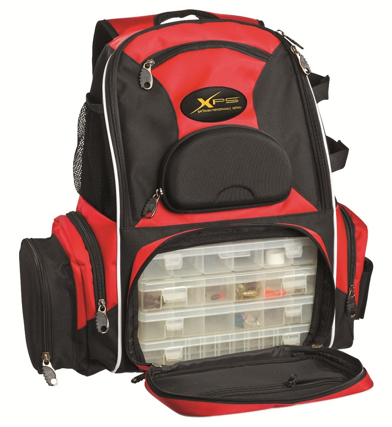 Bass pro shops stalker backpack tackle system takes for Professional fishing gear