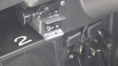 I mounted the controls for the ProVantage in the dash of the Teryx. It makes it convenient if I mount a plow. There is also a port for adding a remote control.