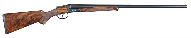 A right-side view of the restored and upgraded shotgun.