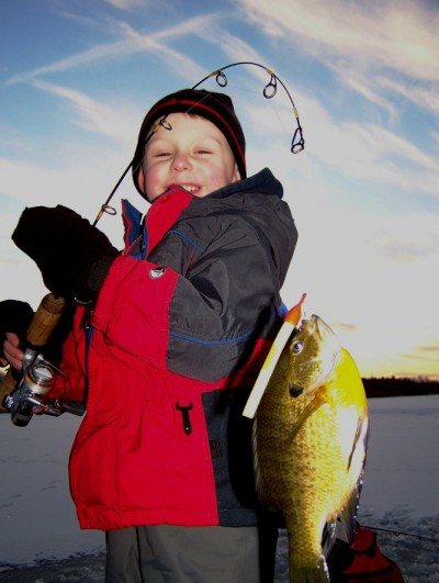 Kids taught how to fish with patience and understanding can become enthusiastic lifetime fishing partners. Image courtesy Loren Keizer.