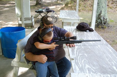 The H&R .17 HMR is, in the author's opinion, one of the greatest rifles to teach kids proper shooting techniques.
