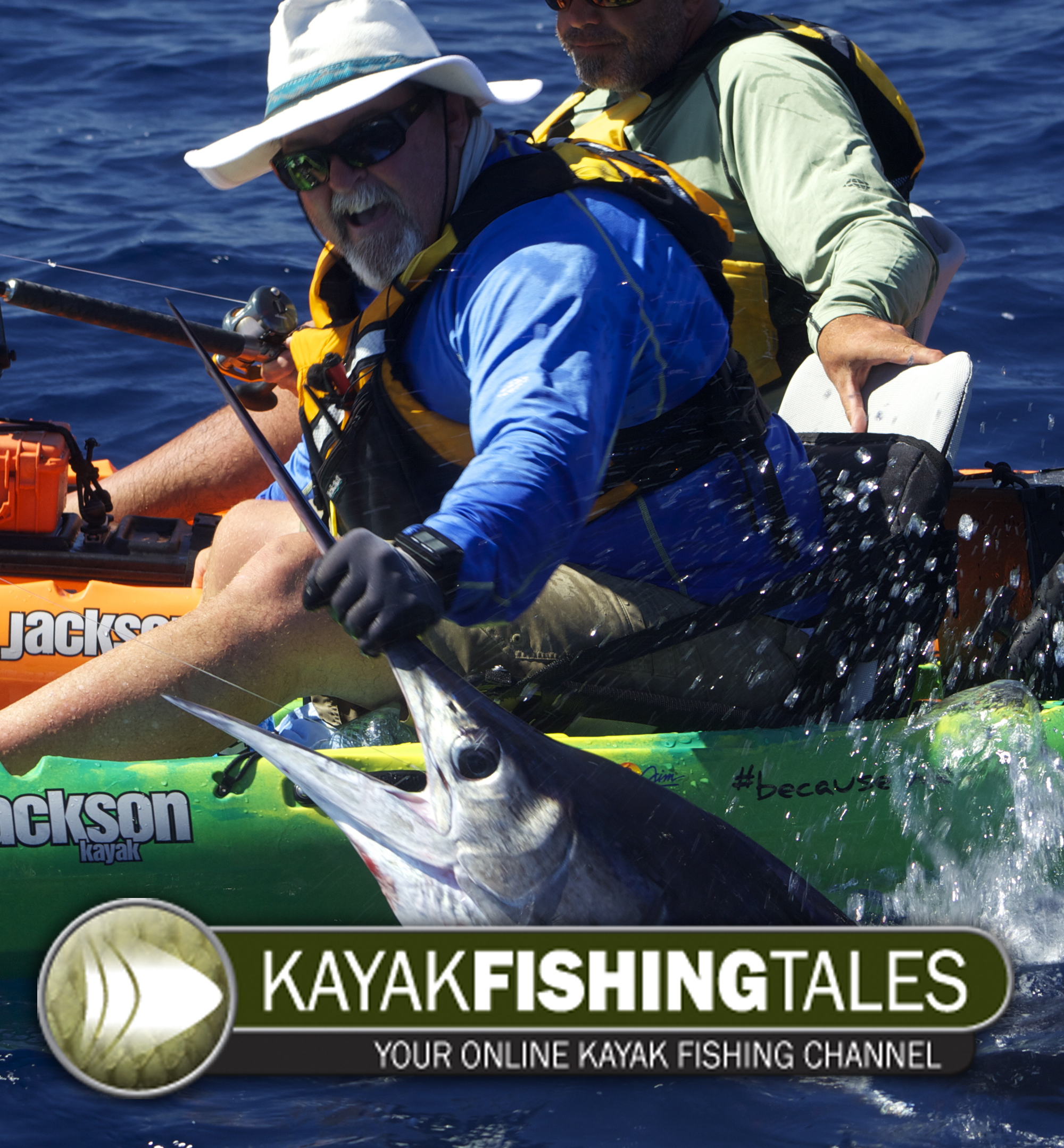Kayak fishing tales youtube channel and newsletter both for Fishing youtube channels