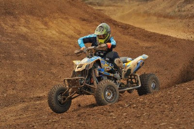 Josh Creamer, last year's No. 3 Pro, took fourth overall aboard his BCS Performance / ITP / Can-Am DS 450.