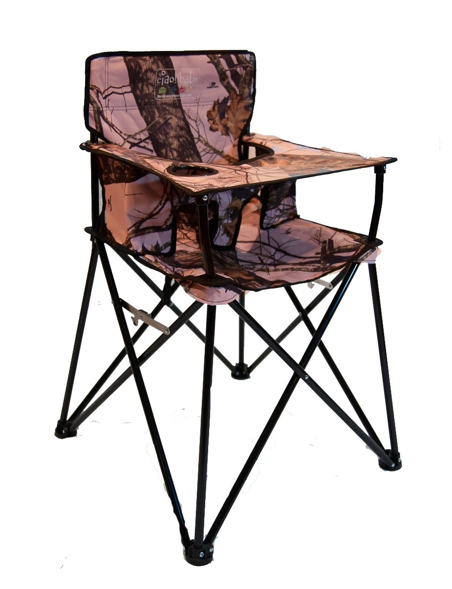 Ciao Baby Introduces Pink Mossy Oak Portable High Chair
