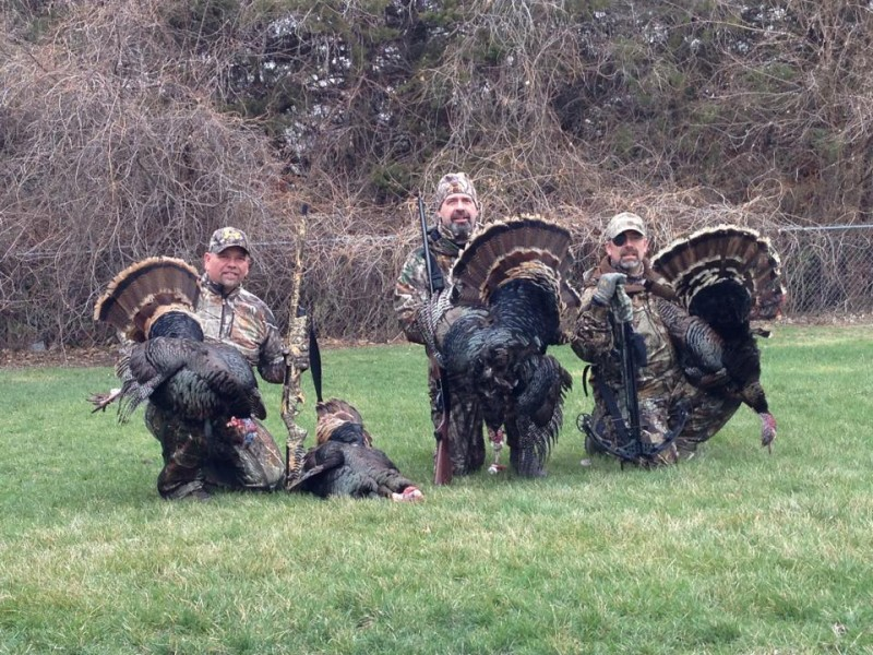 Turkey camp isn't just about taking a bird, although that's pretty fun too. It's also about being with friends. Image by Rick Sosebee.