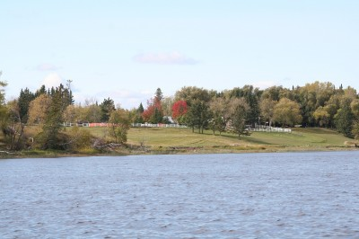 The Rainy River is a picturesque stream that separates Minnesota from Ontario along most of its length.