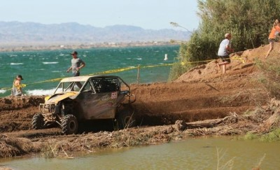 Team Del Amo MS / ITP racer Kyle Melville took second in the SxS 1000 class using Black Water Evolution tires on his Can-Am.