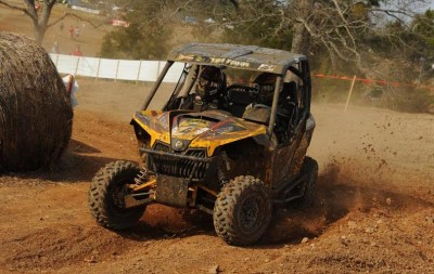 JB Off-Road / Can-Am driver Tim Farr took second in the XC1 Modified class and SxS overall podium at the GNCC SxS Championship opener in Georgia, racing on ITP TerraCross tires.