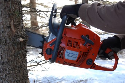 Husqvarna's Rancher 455 is a light, easy-to-use saw that will do everything a serious hunter needs it to.