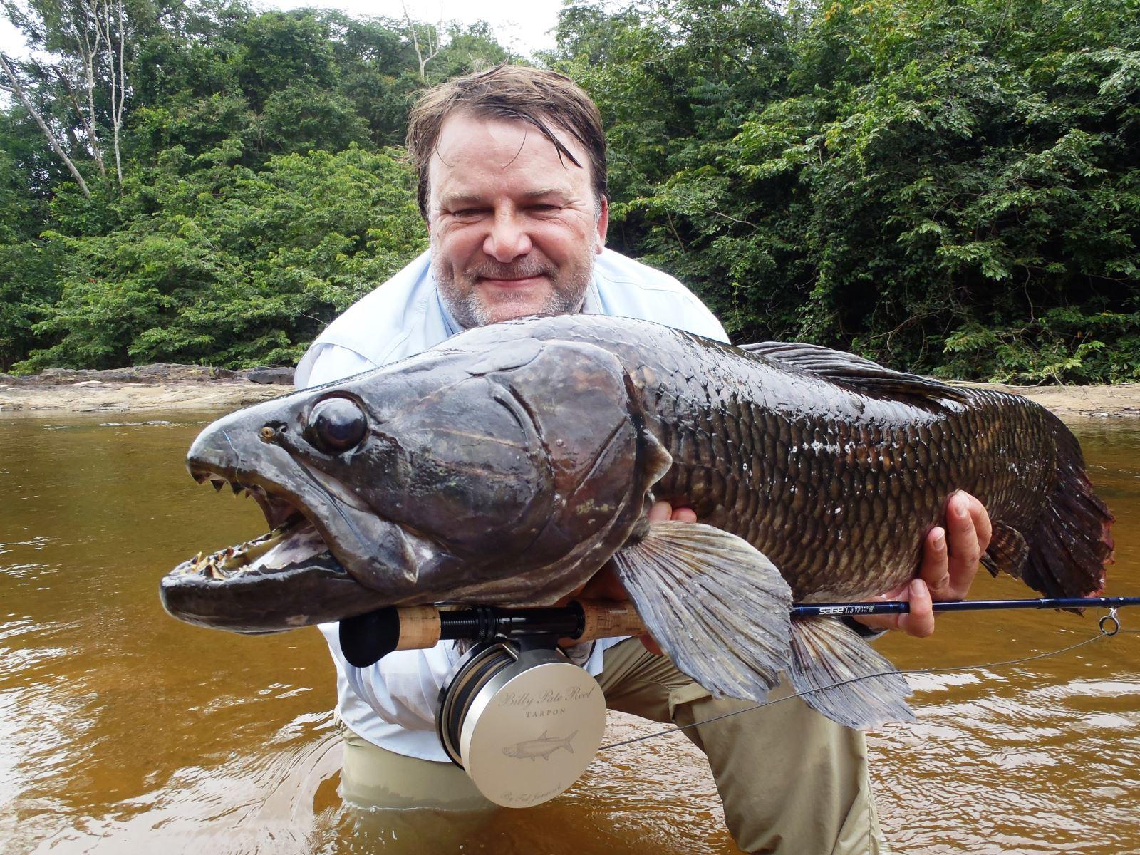 R Fisheries UK Angler Lands...