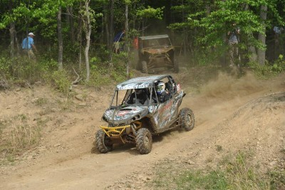 The Mountaineer Run GNCC XC1 Modified class victory in West Virginia pushed Chaney Racing / Turnkey / Can-Am Maverick driver Kyle Chaney into the class points lead after three rounds of racing.