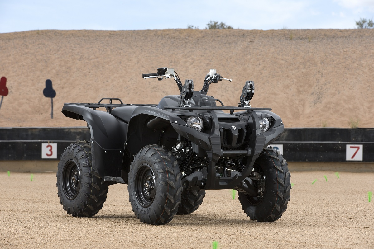 First ride yamaha grizzly 700 se tactical outdoorhub for 2018 yamaha grizzly 700 hp