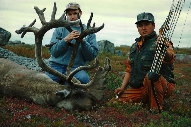Duane Smith's trophy caribou. Image courtesy Dennis Dunn.
